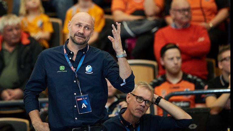 20171104 IFK Kristianstad tränare Ola Lindgren