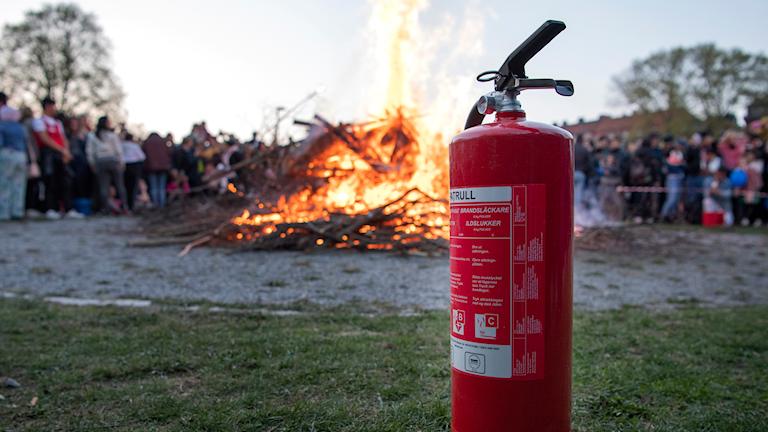 Eldningsförbud kan stoppa olika eldar. Foro;