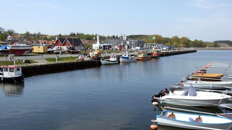 Hamnen i Kivik.