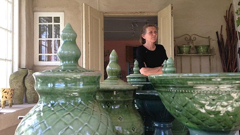 Maria Brusewitz är keramiker i Kristianstad.