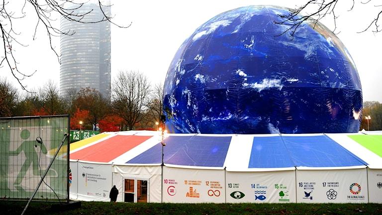 FN:s klimatmöte i Bonn pågår mellan den 6 och 17 november.