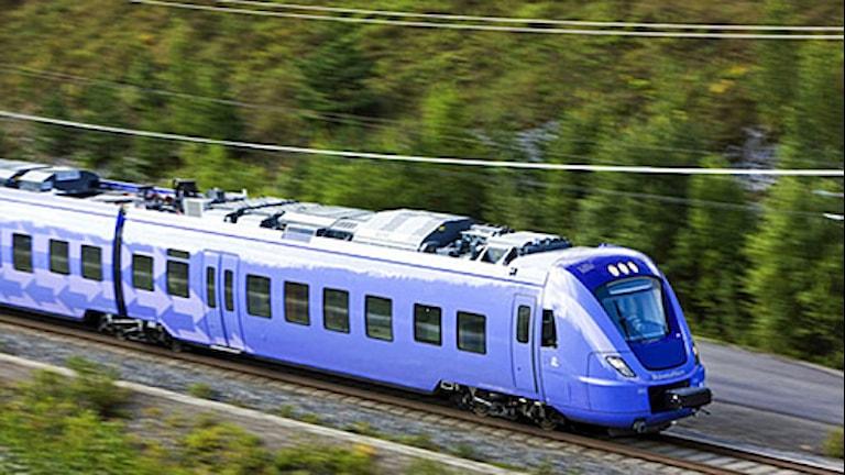 Persontåg mellan Simrishamn och Malmö ska utredas till hösten. Foto: Kasper Dudzik/Skånetrafiken