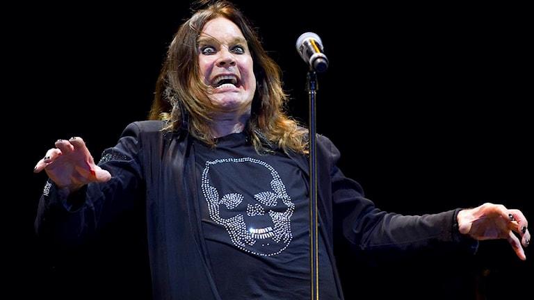 Ozzy Osbourne var den enda riktiga toppartisten enligt flera musikkritiker. Foto: Claudio Bresciani/Scanpix