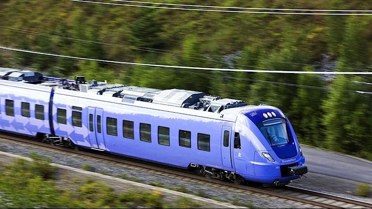 Pågatåg. Foto: Kasper Duszik/Skånetrafiken