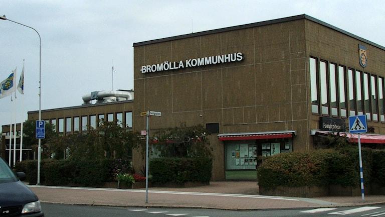 Kommunhuset i Bromölla. Foto: Karin Wranborg/Sveriges Radio