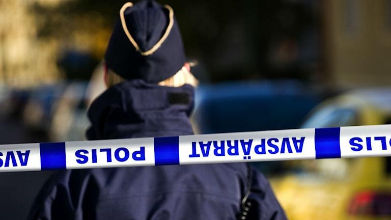 Polis polisavspärrning
