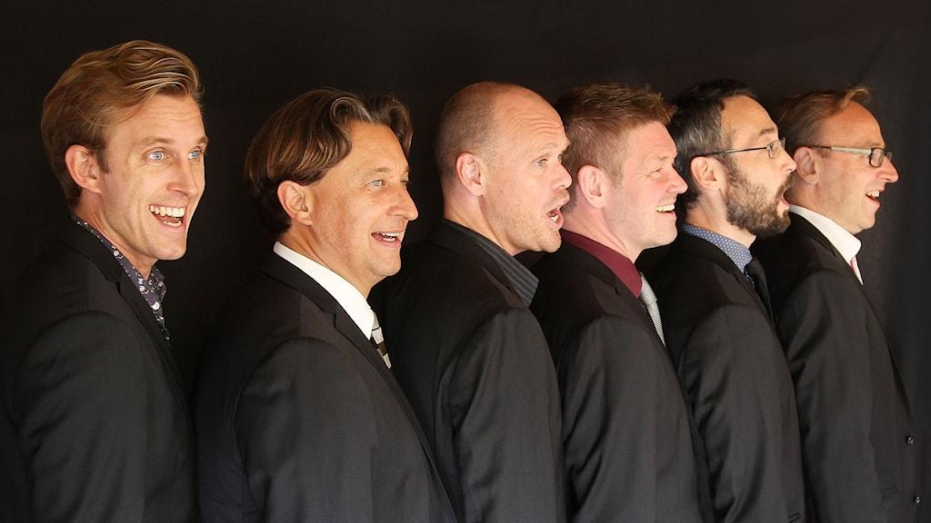 Vocal Six – Tommy, Peder, Stefan, Robban, Per och Staffan
