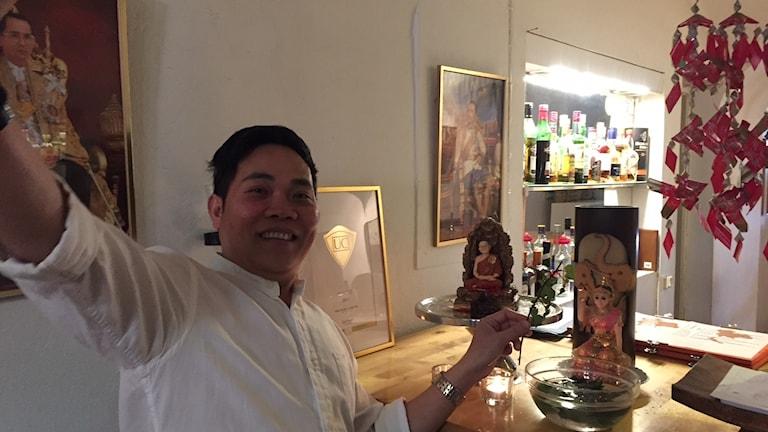 Ponsinh Kong som har en asiatisk restaurang i Kristianstad