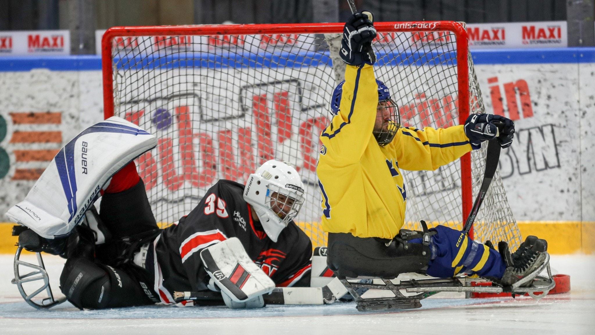 Rasmus straff tog Sverige mot kval till Paralympics 2022