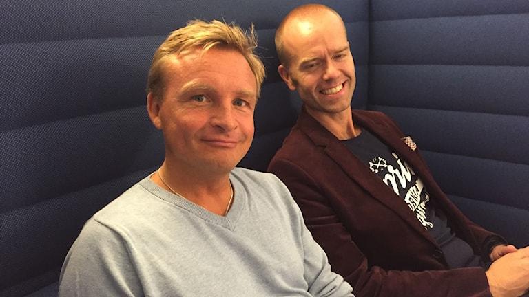 Mattias Lundberg och Janne Bylund