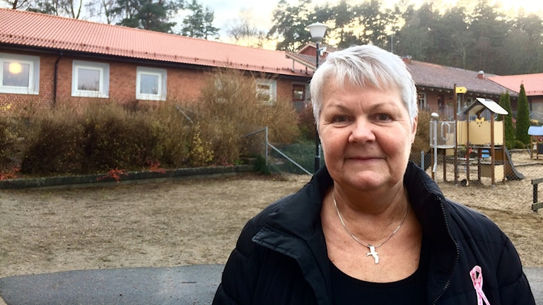 Ann-Kristin Montan, rektor på Brösarps skola.