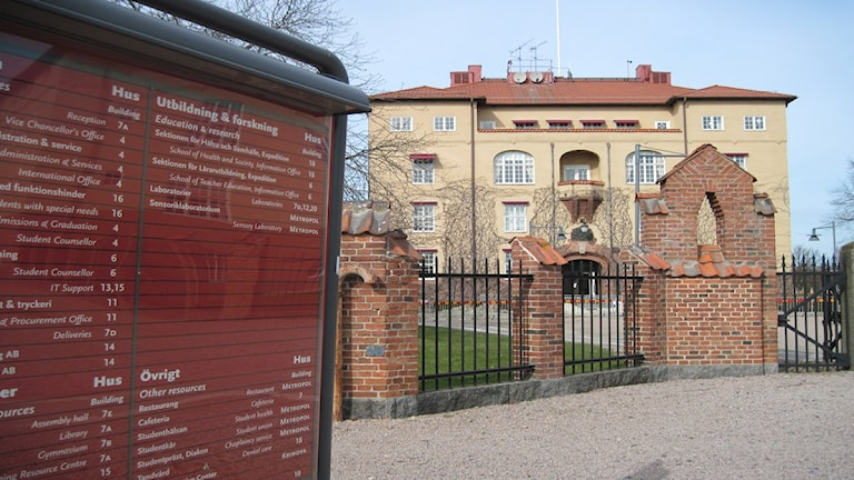 Högskolan i Kristianstad. Foto: Azar Akbarian/P4 Kristianstad
