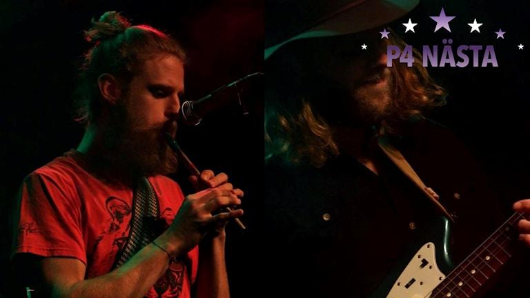 Två manliga musiker