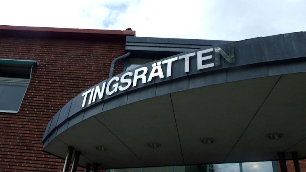 Kristianstad tingsrätt. Foto: Johanna Petersson/Sveriges Radio