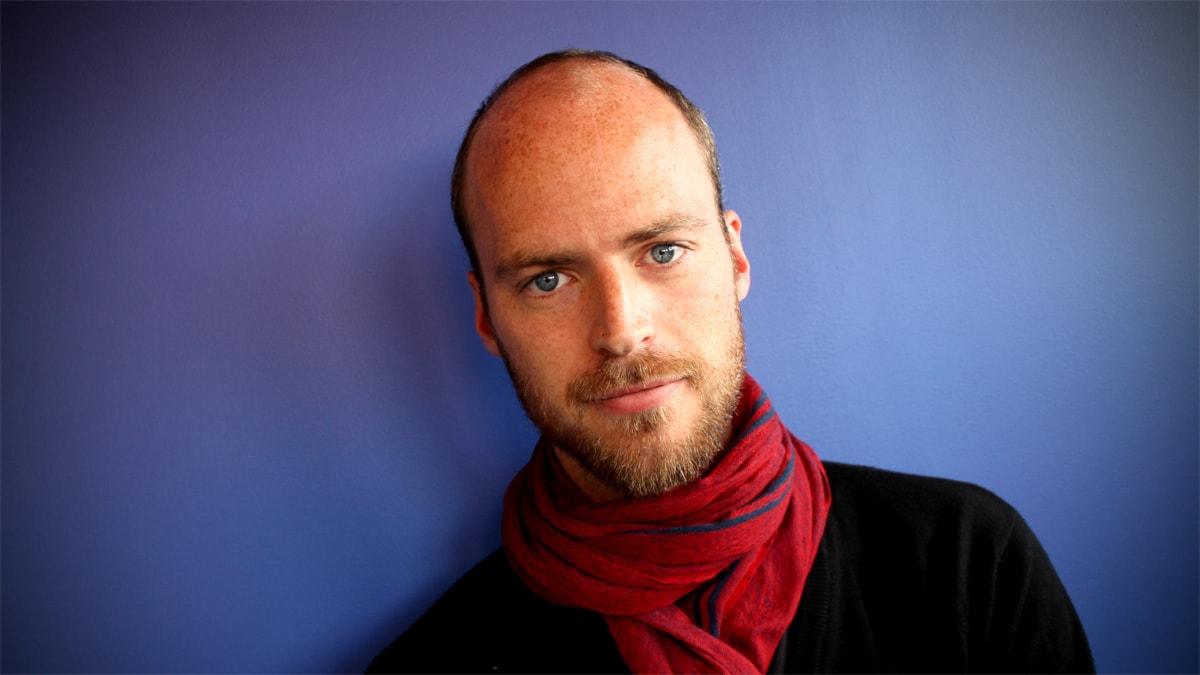 Samuel Larsson, nyhetsreporter på Ekot. Foto: Johanna Petersson/Sveriges Radio