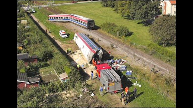 Den 64-årige lastbilschaufför som orsakade tågolyckan i Nosaby utanför Kristianstad hösten 2004 får inte nåd av regeringen.