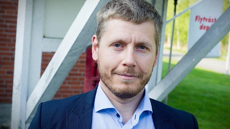 Andreas Poppius är säkerhetschef på Kristianstad kommun.