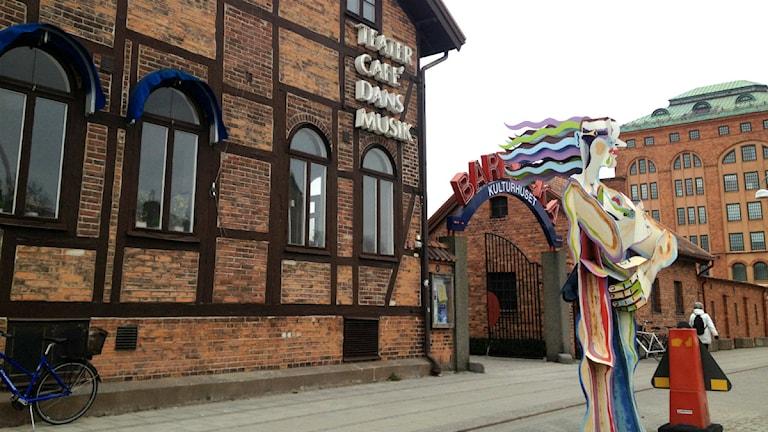 Kulturhuset Barbacka i Kristianstad. Foto: Ted Andersson/Sveriges Radio