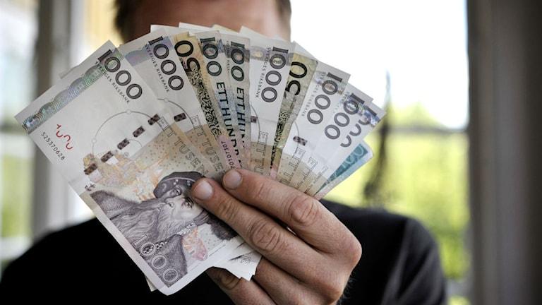 Vad händer med pengar som felaktigt satts in på ditt konto?