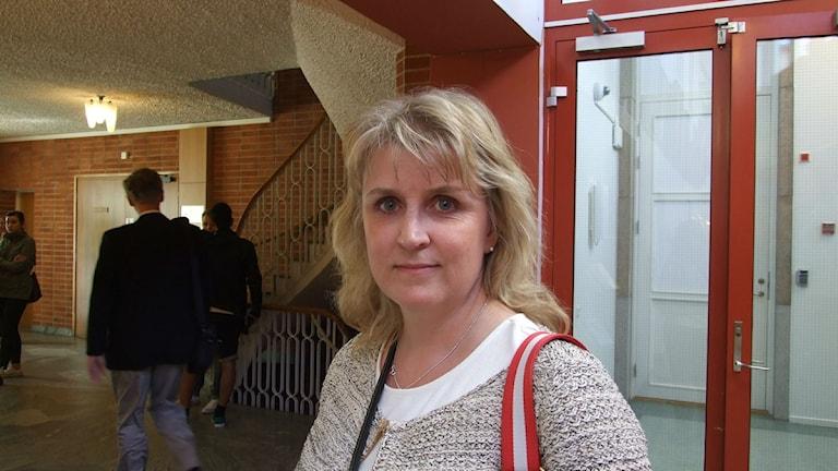 Eva Norberg är vice chefsåklagare på Åklagarkammaren i Kristianstad. Foto: Astrid Adelgren/ Sveriges Radio