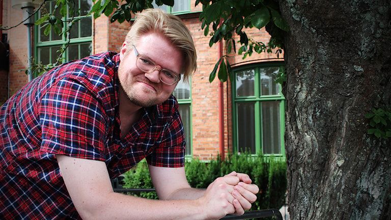 Henrik Knutsson är skådespelare. Foto: Björn Holgersson/Sveriges Radio