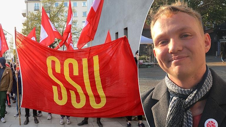 Tony Nilsson är ordförande för SSU-Klasskamp i Kristianstad.