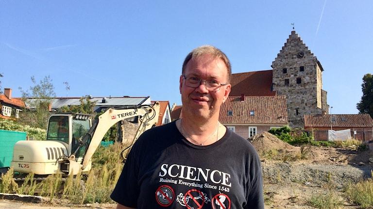 Claes B Pettersson, projektledare Sydsvensk Arkeologi