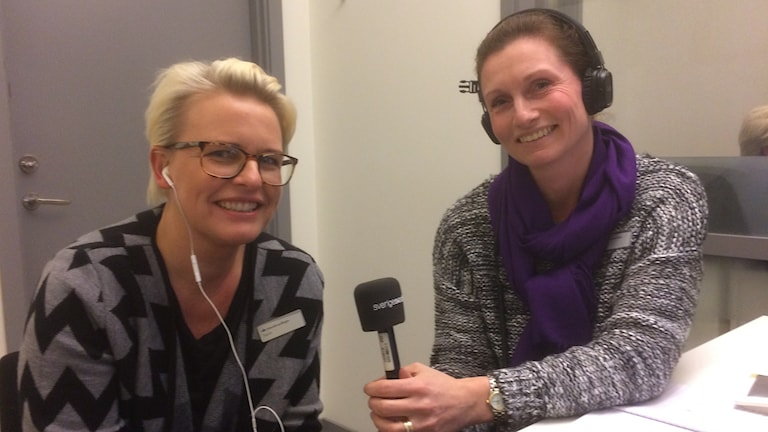 Ingela Silvander och Linda Björkholtz, AF Kristianstad
