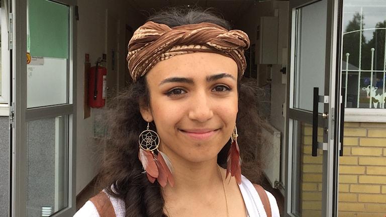 Melia Zinov är elev på Ungdomscentrum