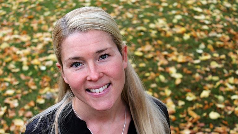Jenny Johnsson Roos är P4 Kristianstads nya publikredaktör. Foto: Björn Holgersson/Sveriges Radio