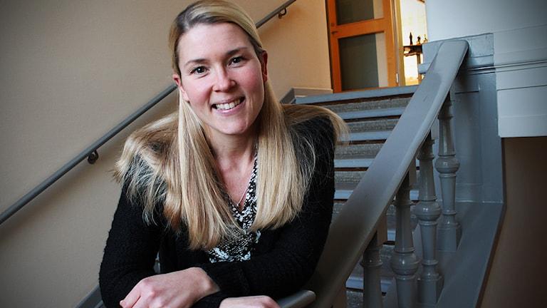 Jenny Johnsson Roos. Foto: Björn Holgersson/Sveriges Radio