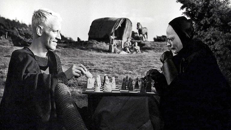 Jan Bengtsson har likt Max von Sydow spelat schack med döden två gånger Foto: SF/TT Bildbyrån