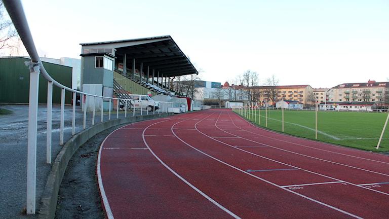 Kristianstads idrottsplats. Foto: Rickard Sturesson/Sveriges Radio