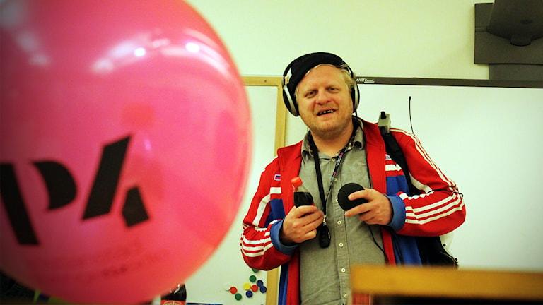 Johan Petterssons lista. Foto: Björn Holgersson/Sveriges Radio