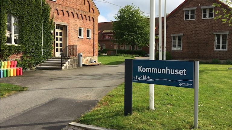 Kommunhuset i Östra Göinge. Foto: Johanna Ravhed/Sveriges Radio