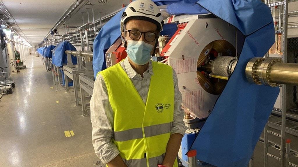 Mats Lindroos är chef för acceleratordivisionen på ESS.