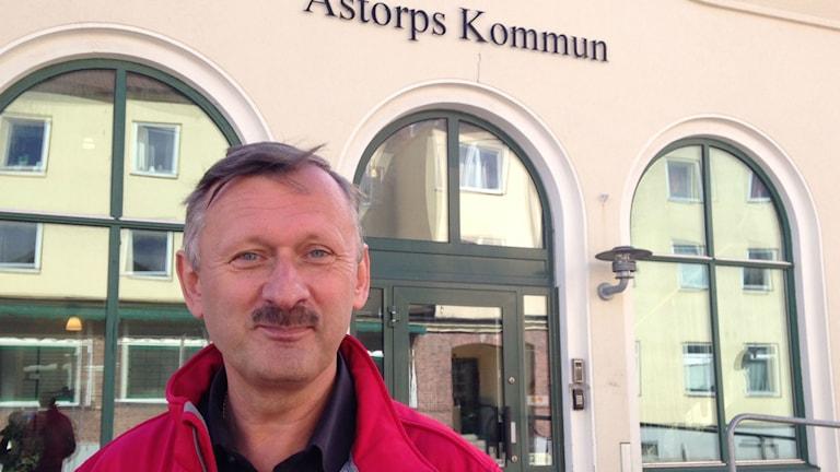 Ronny Sandberg,  socialdemokratiskt kommunalråd i Åstorp.