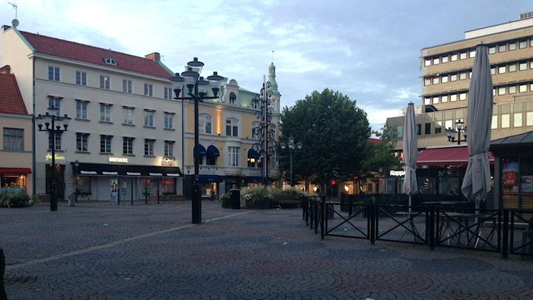 Lilla Torg i Kristianstad. Foto: Jennie Wahlgren
