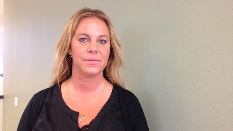 Jenny Önnevik (S). Foto: Linda Evereus/Sveriges Radio