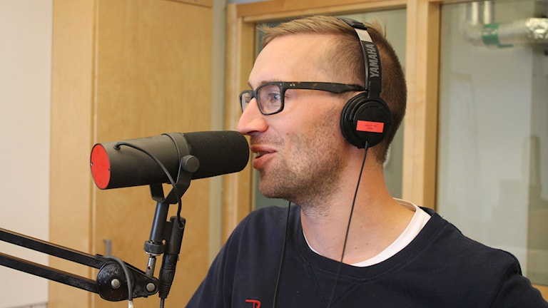 Daniel Gedeborg, läkare barn-ungdomskliniken Kristianstad. Foto: Leif Jönsson/Sveriges Radio