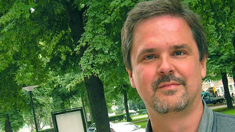 Per Byman är generalsekreterare på Radiohjälpen. Foto: Agneta Sundström/Sida