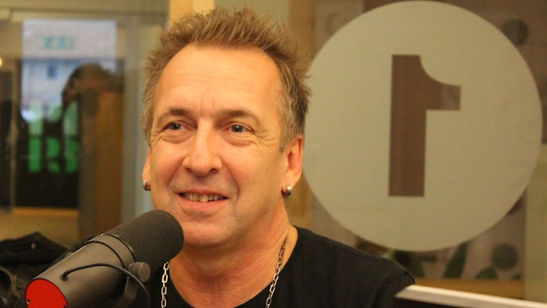 Janne Bark. Foto: Leif Jönsson/Sveriges Radio