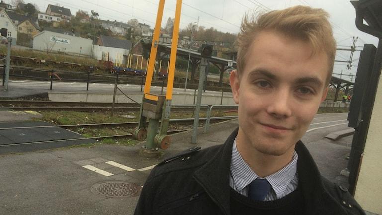 Eddie Ek, SD, Sveriges yngsta oppositionsråd.