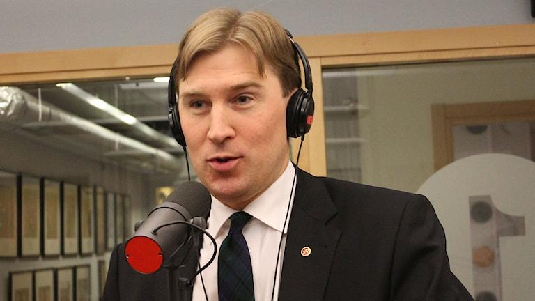 Henrik Fritzon (S). Foto: Leif Jönsson/Sveriges Radio