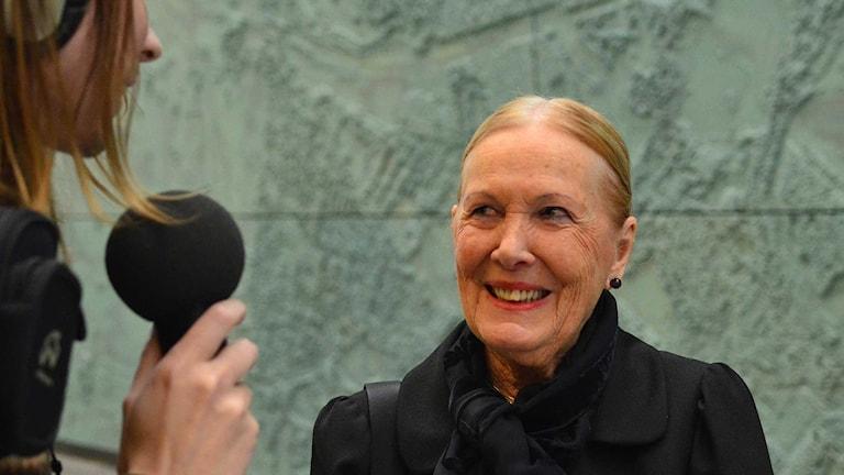 Anna-Kerstin Larsson. Foto: Per Lundberg/Sveriges Radio