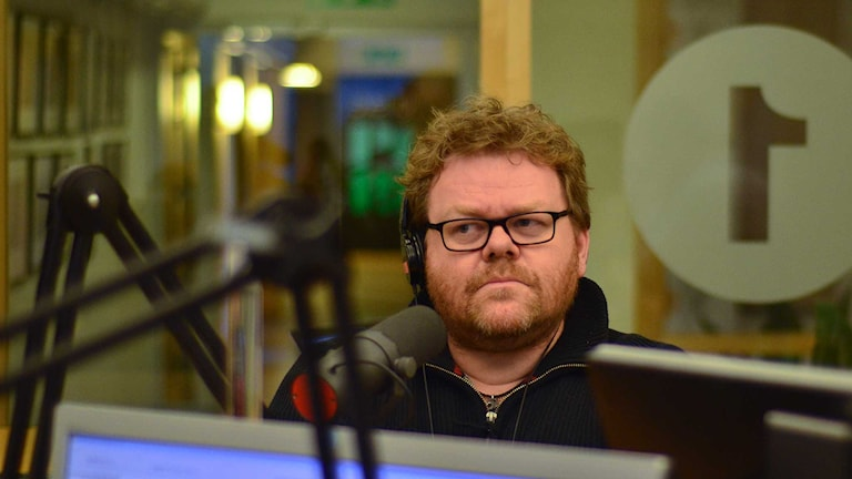 Jonas Nilsson. Foto: Per Lundberg/Sveriges Radio