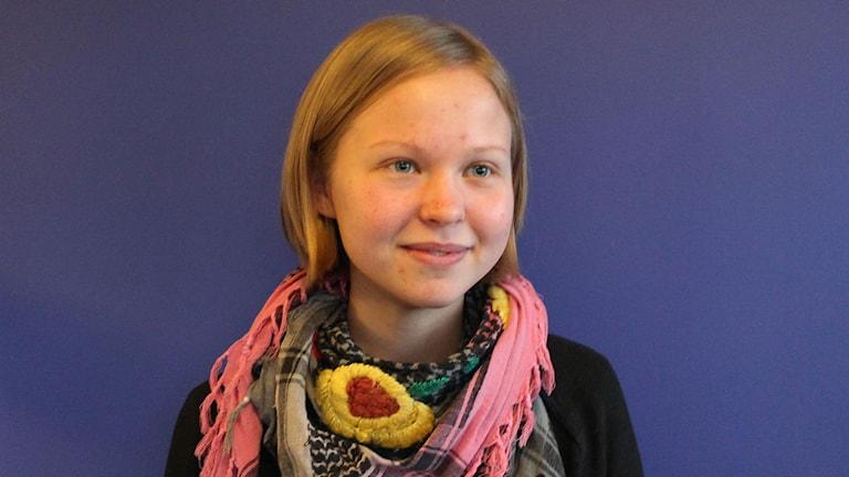 Louise Jakobsson Wigh. Foto: Leif Jönsson/Sveriges Radio