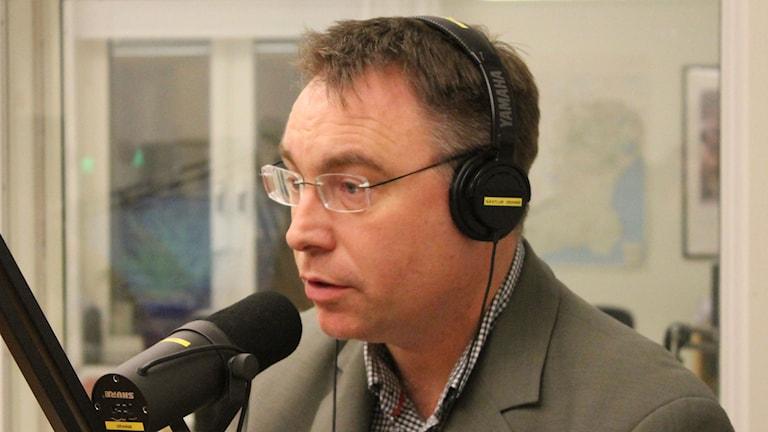 Anders Åkesson (MP). Foto: Leif Jönsson/Sveriges Radio