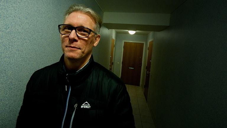 Roland Prommersberger, bosocial samordnare på ABK i Kristianstad. Foto: Johan Pettersson/Sveriges Radio