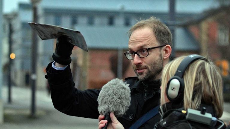 tillväxtchef Mikael Kipowski. Foto: Per Lundberg/Sveriges Radio